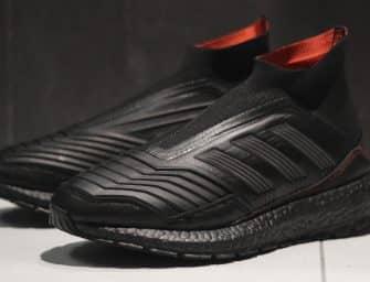 Jack The Ripper collabore une nouvelle fois avec adidas pour une Predator 18+ UltraBoost customisée