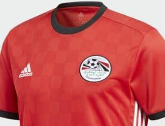 Les maillots adidas de l'Egypte pour la Coupe du Monde 2018