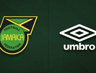 Umbro, nouvel équipementier de la Jamaïque