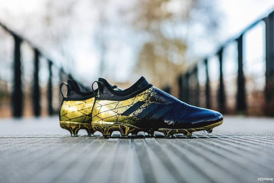 chaussures-football-adidas-Glitch-18-Trikotskin-noir-or-img2
