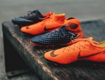 Les nouveaux noms des différentes gammes de chaussures de foot de Nike