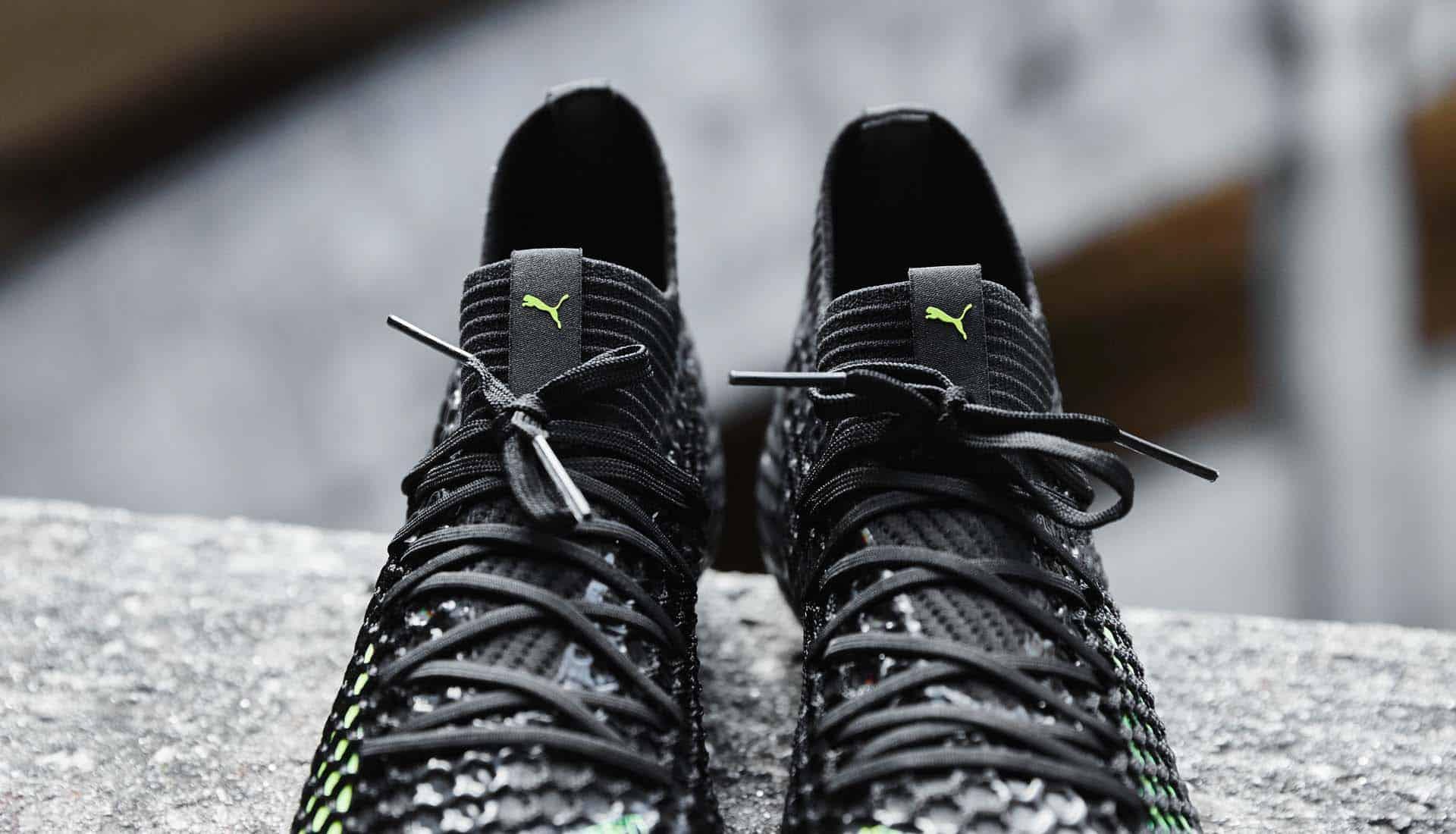 chaussures-football-Puma-Future-18-Netfit-Black-Fizzy-Yellow-img3