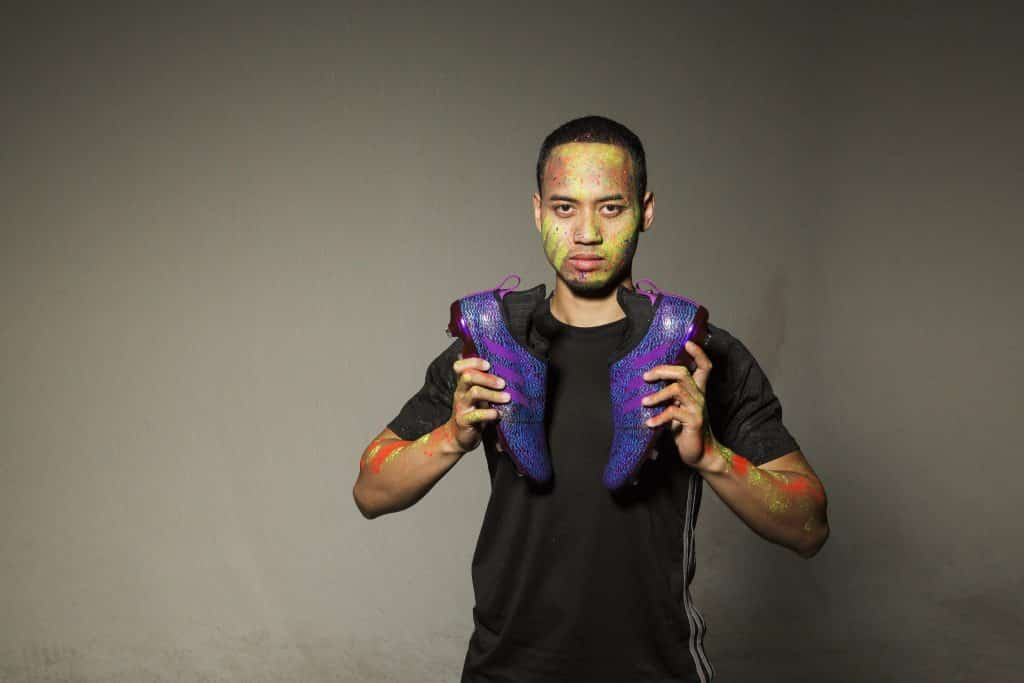 chaussures-football-adidas-GLITCH-18-Nocturnal-Violet-Bleu-img2