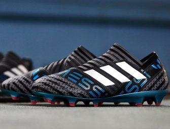 Un coloris inédit de la Nemeziz 17 du pack «Cold Blooded» d'adidas pour Messi