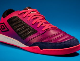 Umbro lance sa nouvelle chaussure de futsal : la Chaleira Pro