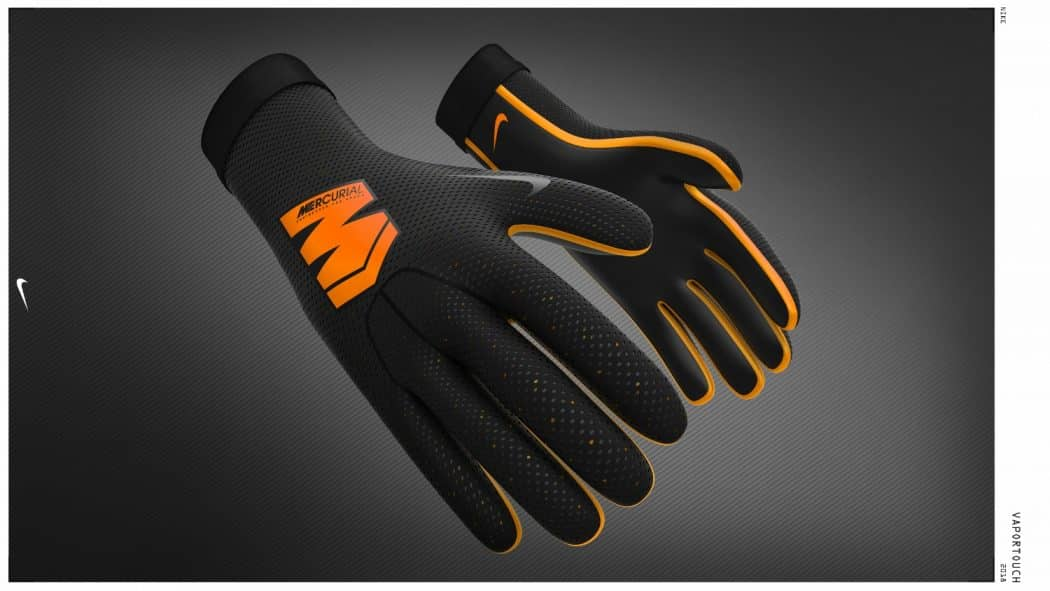 nike r invente les gants de gardien avec les mercurial touch elite. Black Bedroom Furniture Sets. Home Design Ideas