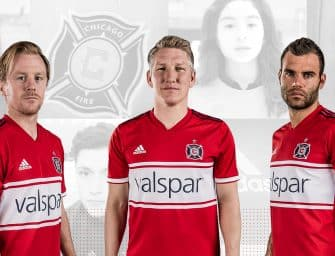 Chicago Fire et adidas présentent le nouveau maillot 2018