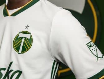 Le nouveau maillot extérieur des Portland Timbers par adidas