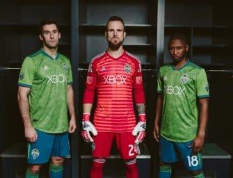 adidas dévoile le nouveau maillot des Seattle Sounders