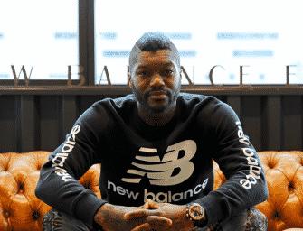 Djibril Cissé rejoint New Balance !