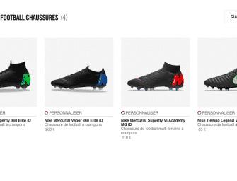 Nike ID est déjà disponible pour les nouvelles Mercurial !