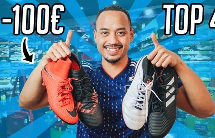 Footpack TV – Les meilleures chaussures de foot à moins de 100 euros