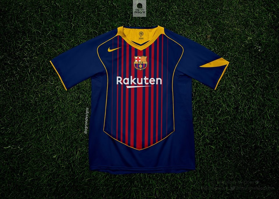 Maillot-Nike-Total-90-FC-Barcelone