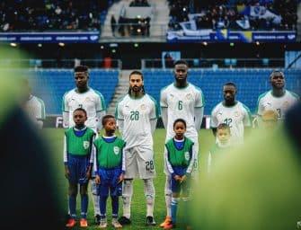 Les maillots du Sénégal et les chaussures des 23 joueurs pour la Coupe du monde 2018