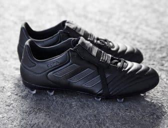 Adidas dévoile un nouveau coloris «Blackout» pour sa Copa Gloro 17
