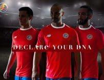 New Balance et le Costa Rica présentent les maillots de la Coupe du Monde 2018