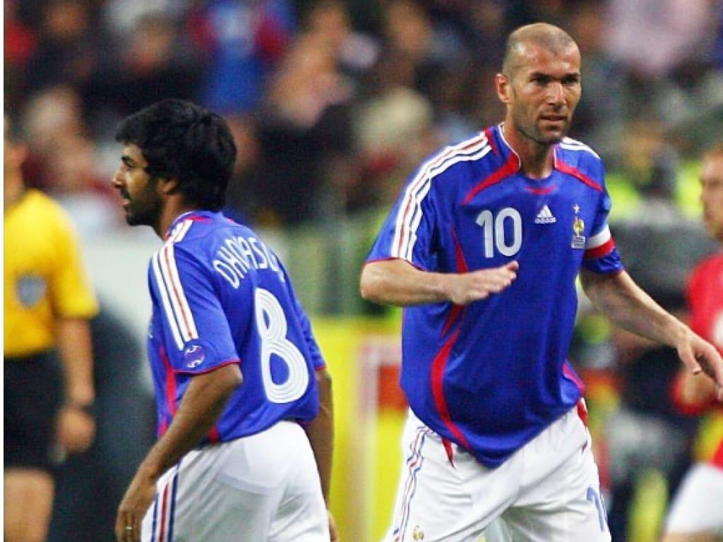 40 ans de maillots de l 39 quipe de france en coupe du monde - Coupe du monde 2006 france bresil ...
