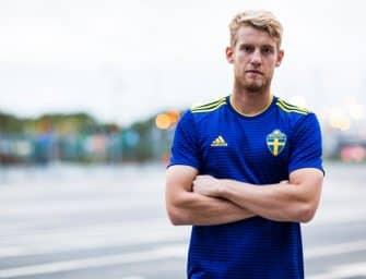 Les maillots de la Suède et les chaussures des 23 joueurs pour la Coupe du monde 2018