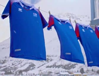 Les maillots de l'Islande et les chaussures des 23 joueurs pour la Coupe du monde 2018