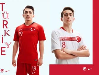 Nike dévoile les nouveaux maillots de la Turquie