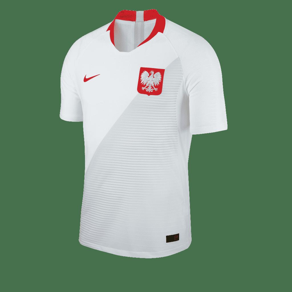 les maillots de la pologne et les chaussures des 23 joueurs pour la coupe du monde 2018. Black Bedroom Furniture Sets. Home Design Ideas