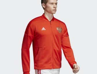 Les vestes adidas Z.N.E. pré-match pour la Coupe du monde 2018 !