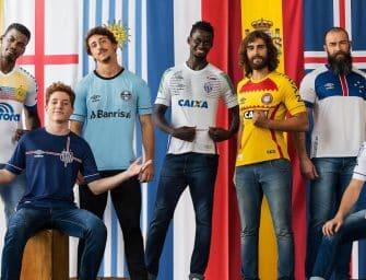 Umbro dévoile une collection «Umbro Nations» pour ses clubs brésiliens !
