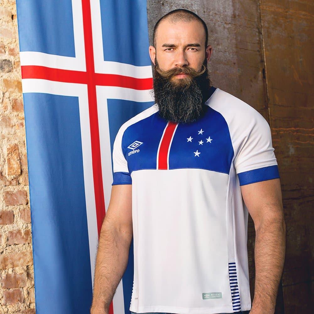 maillots-football-Umbro-nations-cruzeiro-islande-avril-2018