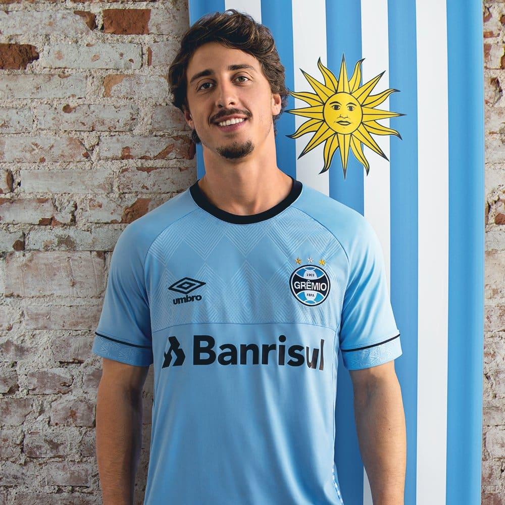maillots-football-Umbro-nations-gremio-uruguay-avril-2018