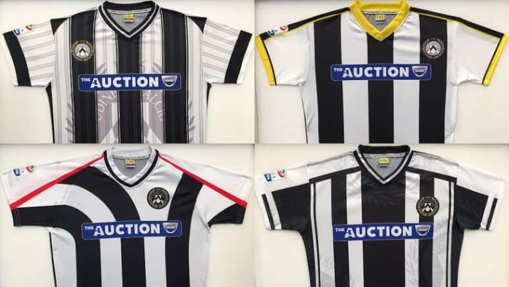 maillots-football-differents-udinese-calcio-italie-avril-2018-2