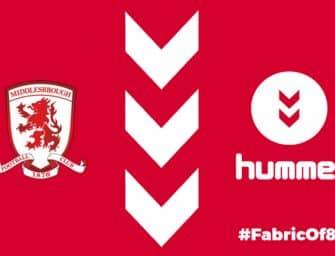 Hummel et Middlesbrough annoncent un partenariat à partir de la saison 2018/2019