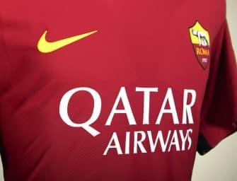 Qatar Airways, nouveau sponsor maillot de l'AS Roma