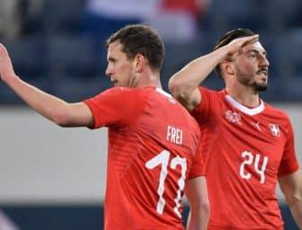 Les maillots de la Suisse et les chaussures des 23 joueurs pour la Coupe du Monde 2018