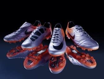 Les chaussures de Nike lors des dernières Coupes du monde