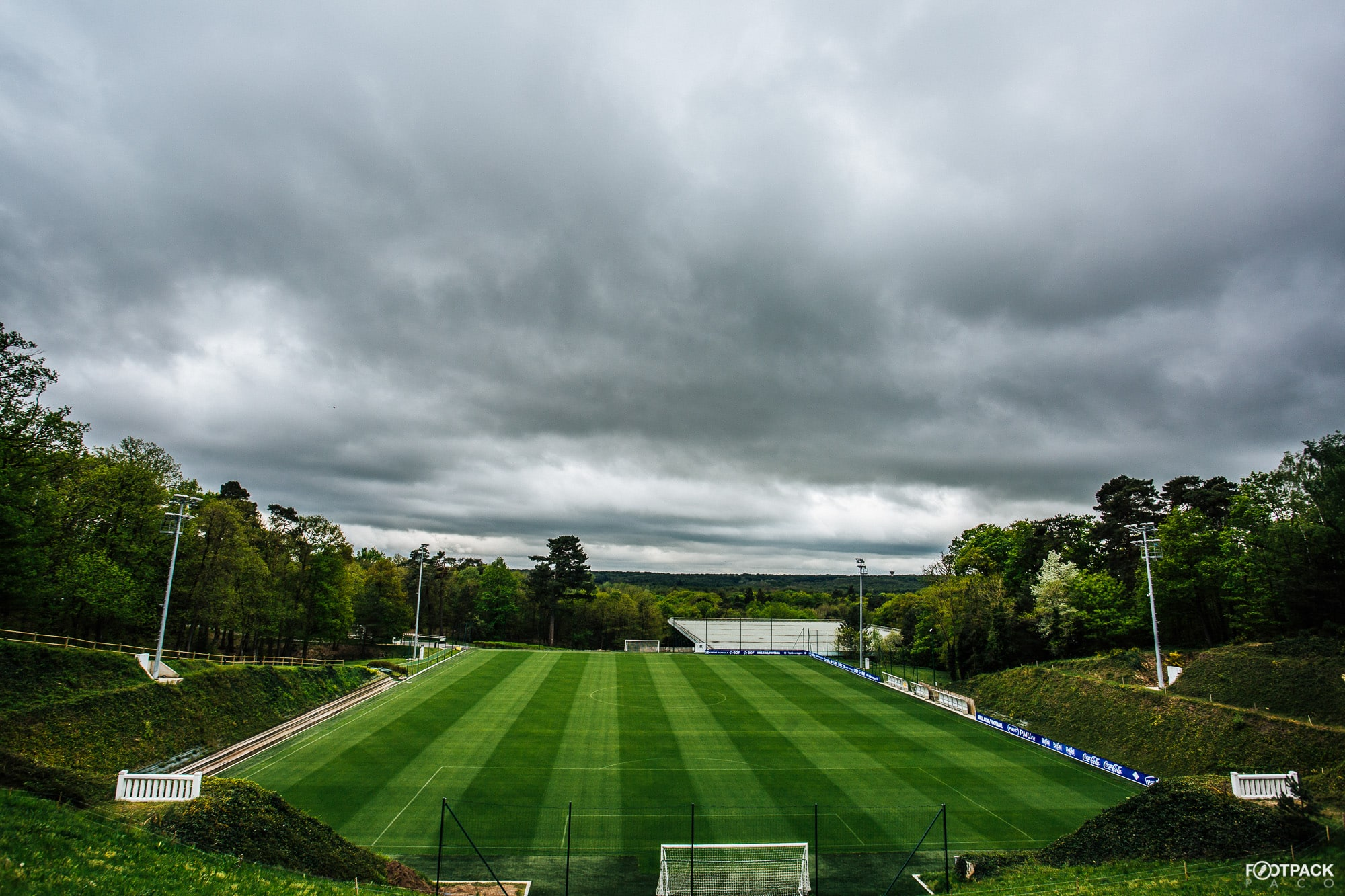 entrainement a clairefontaine