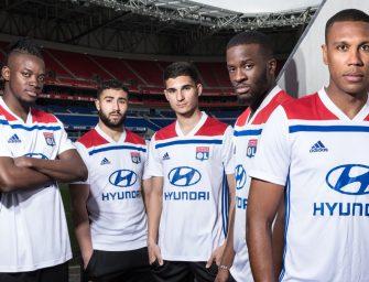 adidas et l'Olympique Lyonnais dévoilent les maillots 2018-2019