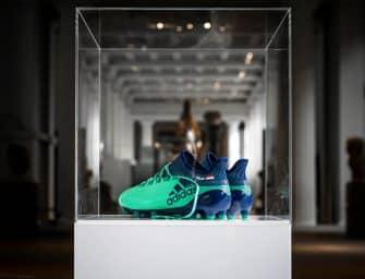 Les chaussures de Mohamed Salah exposées au British Museum