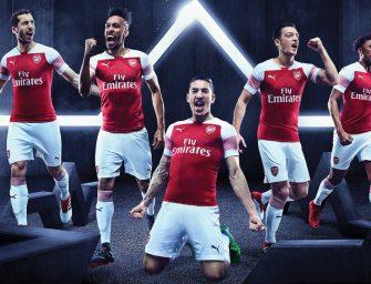 Arsenal et Puma présentent les maillots 2018-2019