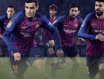 Nike et le FC Barcelone dévoilent les maillots pour la saison 2018-2019