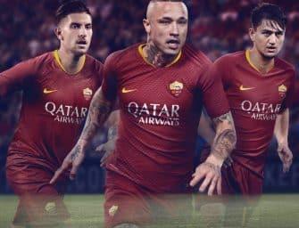 Nike et la Roma dévoilent les maillots 2018-2019