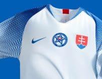 Nike dévoile le nouveau maillot domicile de la Slovaquie