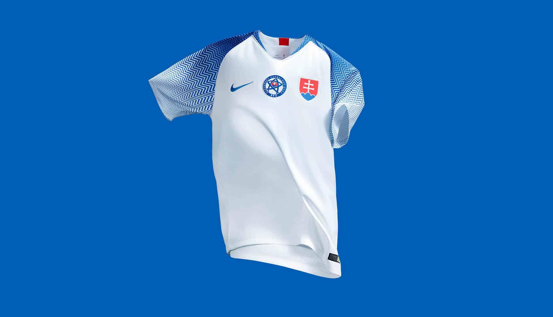 maillot-football-Nike-Slovaquie-domicile-2018