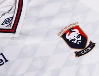Les maillots Umbro 2018-2019 du Stade Malherbe de Caen