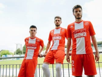 Kappa & le Footpack FC dévoilent ses maillots 2018/2019 !