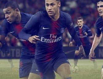 Le Paris Saint-Germain et Nike présentent les maillots 2018-2019