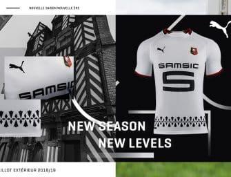 Le Stade Rennais et Puma lancent les maillots 2018-2019