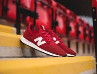 New Balance présente ses sneakers aux couleurs de Liverpool !