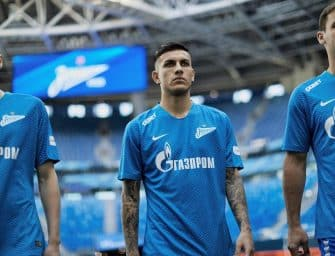 Les maillots 2018-2019 du Zenit St-Petersbourg par Nike