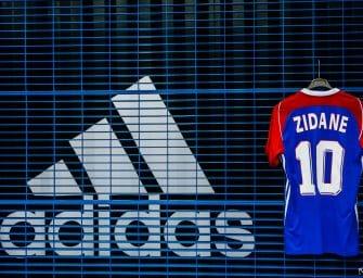 adidas dévoile un maillot tango en l'honneur de l'équipe de France 98