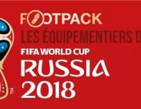 Infographie : les équipementiers de la Coupe du Monde 2018 en Russie
